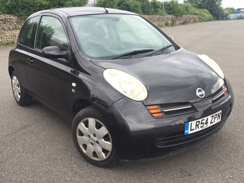 nissan micra 2004 se dci 1 4 diesel manual black in sheffield south yorkshire gumtree. Black Bedroom Furniture Sets. Home Design Ideas