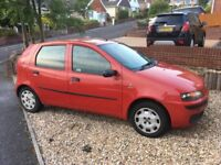 2003 Fiat Punto 5000000, 1.2 petrol 5dr - 11 months MOT