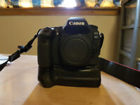 Canon EOS 80D DSLR Camera with Battery Grip (Body only)