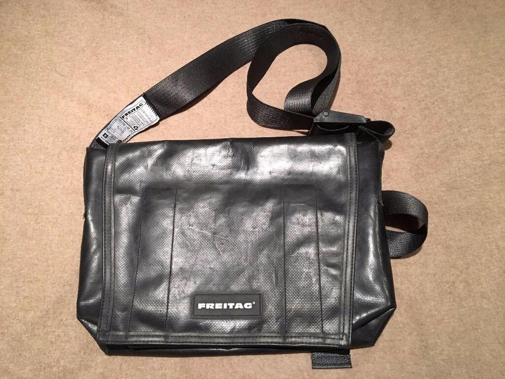 Freitag Dexter Messenger Bag All Black | in Old Street ...
