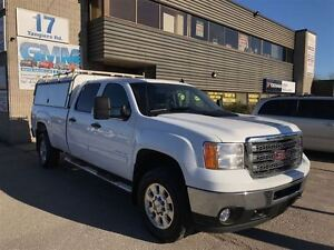 2014 GMC SIERRA 2500HD SLE 2500 Crew Cab Long Box 4X4 Gas