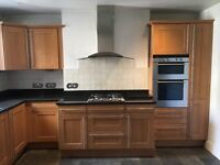 14 unit kitchen for sale w/ appliances and worktop