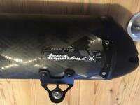 Two brothers carbon exhaust