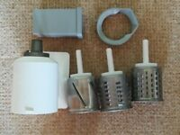 Kitchen Aid Artisan Accessories Slicer and Shredder Attachments
