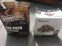 BBQ lava rocks 2x3kg boxes