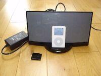 Bluetooth enabled Bose Sounddock.