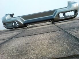Nissan Terrano II rear bumper a rare opportunity to purchase an original part in lovely condition