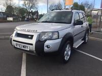 2003(53) LAND ROVER FREELANDER TD4 S/W A FACE LIFT MODEL 1.9 TURBO DIESEL AUTOMATIC 4X4 F/S/H