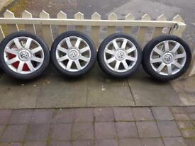 Volkswagen wheels & tyres