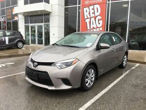 2014 Toyota Corolla LE  LOW,LOW KM'S