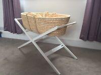 John Lewis contemporary design Moses basket