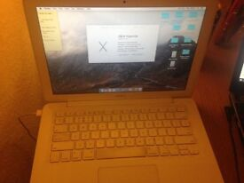 decent white Mac book for sale