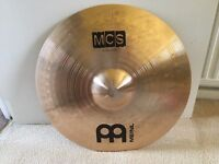 Meinl MCS 16'' crash + Meinl MSC 20'' ride