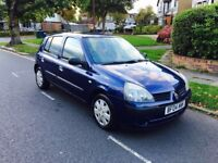 RENAULT CLIO AUTOMATIC 1.4 ENGINE LOW MILEAGE HPI CLEAR mot polo golf corsa Ford Focus fiesta vw