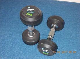 Pair of 5kg dumb-bells