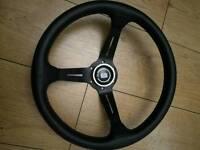 Nardi torino signed leather steering wheel