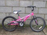 pink bike bmx 20'' nitro