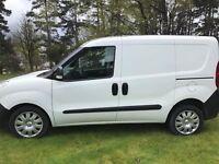 2013 Vauxhall Combo Van With Rear Seats