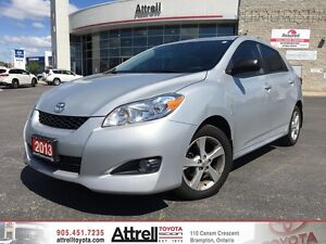 2013 Toyota Matrix. Moonroof, Fog Lights, Keyless Entry.