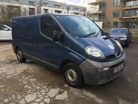 Vauxhall Vivaro 1.9Di 2700 SWB Panel Van With Double Side door