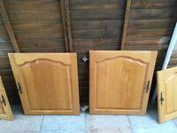 Selection of Solid Oak Kitchen Cupboard Doors