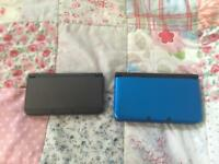 Nintendo 3Ds XL and Nintendo 3Ds New and one charger.