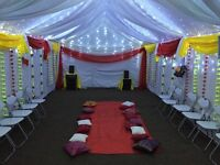 Marquee hire for wedding and other Events