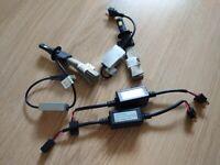 H7 LED car bulbs and decoders