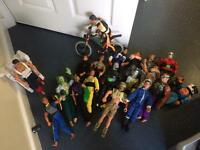 Collection of 20 Action Man figures