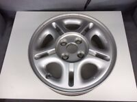 """Pair of 14"""" Alloy Wheels, 5 Spoke, Ideal for Toyota Yaris / Starlet"""