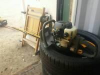 Ryobi petrol hedge cutter trimmer
