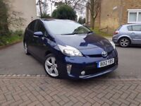 TOYOTA PRIUS T SPIRIT ONE OWNER FULLY LOADED MODEL LEATHER XENON LIGHTS NAVIGATION PCO VALID UK CAR