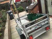 Trailer and ladders for sale!