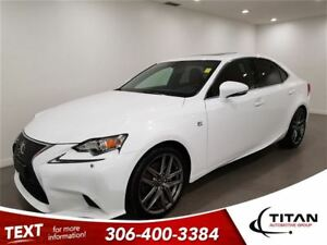 2015 Lexus IS 250 F Sport|AWD|Cam|Bluetooth|Nav
