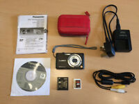 Lumix camera with accessories as shown - excellent condition