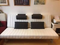 IKEA Sofa-Double Bed. Used but still in full working order.