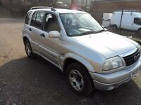 suzuki grand vitara with full mot 6 services last one done at 94000