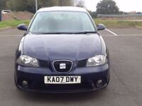 2007 (Jun 07) SEAT IBIZA 1.4 16V SPORT (85) - Hatchback 3 Doors - Manual - Petrol - BLACK *LONG MOT