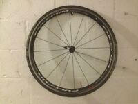FULCRUM Racing Quattro LG Alloy Clincher Front Wheel & SCHWALBE Ultremo ZX Tyre