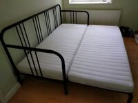 Ikea FYRESDAL Sofa bed (Double bed) with 2x MALFORS mattresses