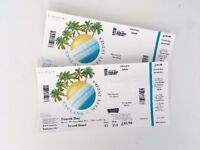 ENGLAND V WEST INDIES 4TH DAY LORDS TEST 10TH SEPTEMBER 2017 - TWO TICKETS £ 40 EACH