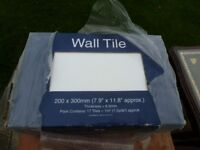 BOX of 17 WHITE WALL TILES ONLY £5