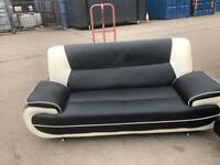 Stunning. Large. 2 Seater. Leather. Sofa