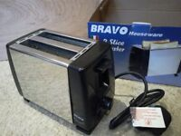 Bravo 2-Slice Toaster New & Unused
