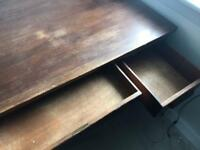 Desk BARGAIN Solid wood antique collectible
