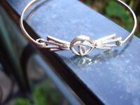 925 Silver Rennie MacIntosh style Bracelet---Hallmarked