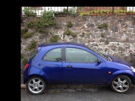 2007 Blue Ford SportKA 1.6L - very fun sporty car