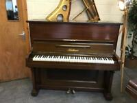 1895 Dark Wood Bluthner, Leipzig Upright Piano - CAN DELIVER