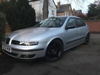 Seat Leon 1.8 (non turbo) not cupra low miles mot ready to drive like golf gti Audi A3