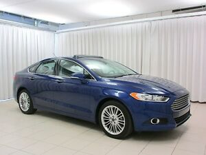 2016 Ford Fusion SE ECOBOOST AWD SEDAN w/ SUNROOF, BACKUP CAM &